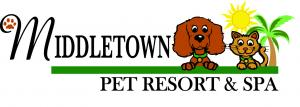 Pet Resort color Logo